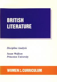Wolfson-British Literature Discipline Analysis