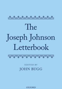 Book cover: The Joseph Johnson Letterbook