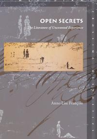 Book cover: Open Secrets: The Literature of Uncounted Experience