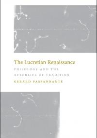 Book cover: The Lucretian Renaissance