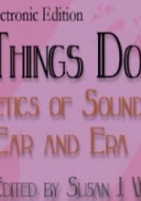 Soundings of Things Done - Wolfson