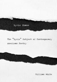"Book cover: The ""Lyric"" Subject of Contemporary American Poetry"