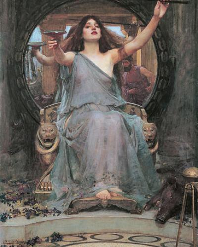 Image: Circe Offering the Cup to Odysseus