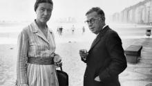 Satre and Beauvoir image