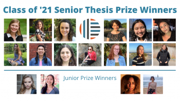 2021 Thesis Prize winners