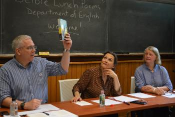 Reunions: Poems before Lunch - Prof. Gleason, Schor, Anderson
