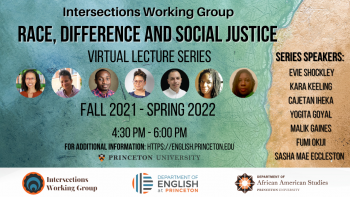 Intersections Lecture Series announcement