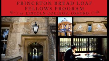 Oxford Bread Loaf fellowships