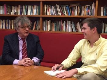 Paul Muldoon and Lance Rutkin interview