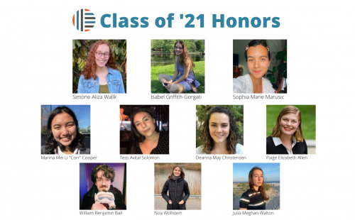 Honors Class of 2021