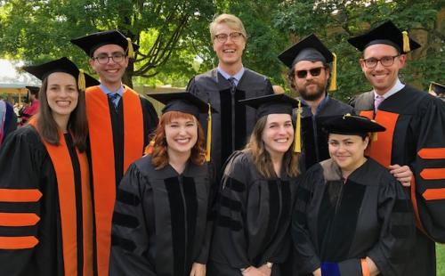 2019 English Department graduating PhDs