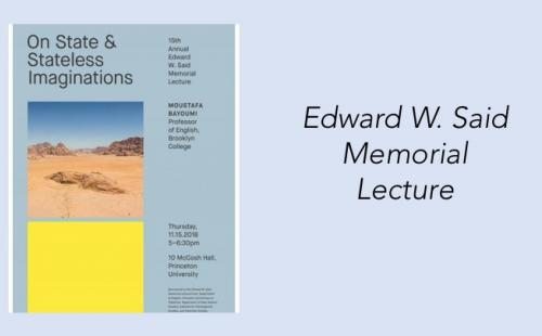 15th Annual Edward W. Said Memorial Lecture