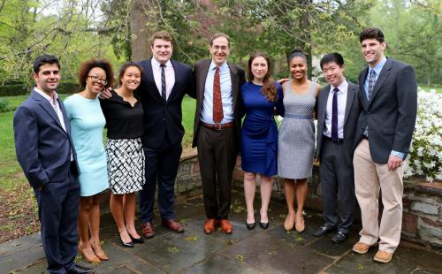 Spirit of Princeton Award winners
