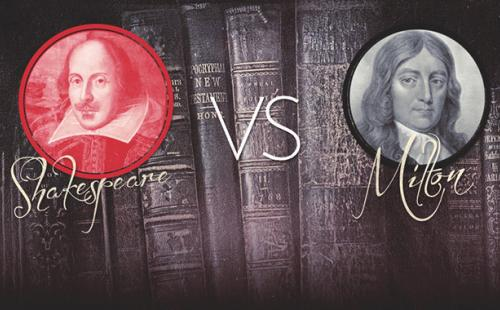 shapespeare vs milton