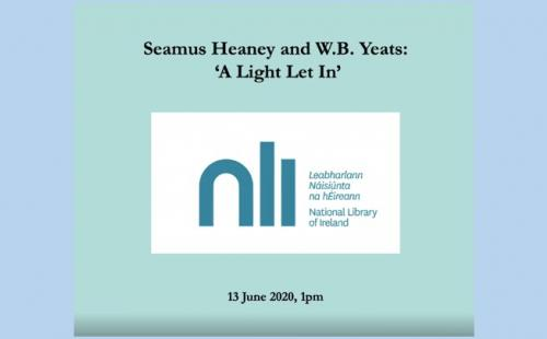 Annabelle Barry talk: National Library of Ireland