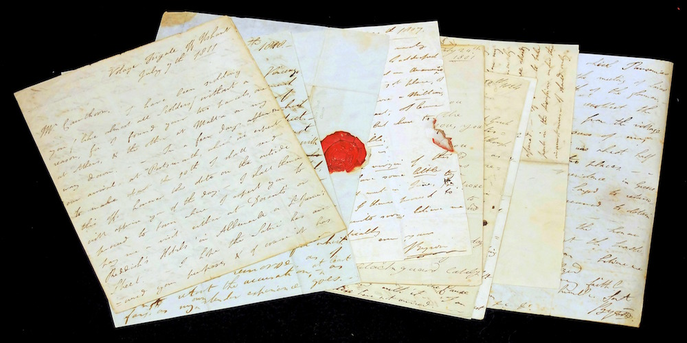 Lord Byron Letters - PU Library Collections